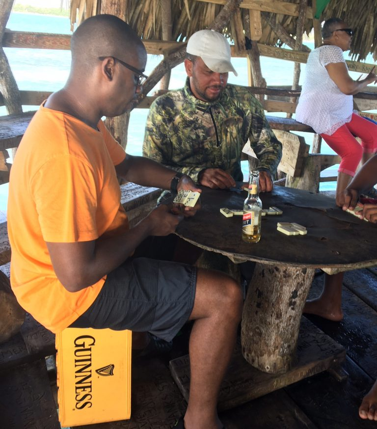 Dominoes is a must (Pelican Bar)