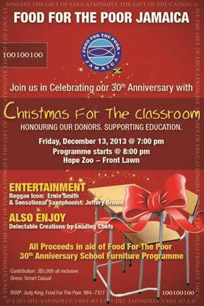 Christmas for the classroom fundraiser